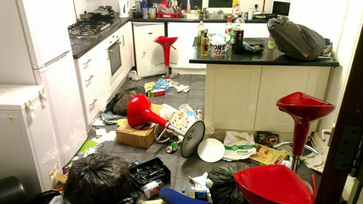 Image result for student house mess