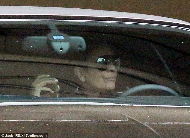 Pictured: Caitlyn's ex-wife Kris Jenner was spotted heading to the gym on Monday morning, shortly before the Vanity Fair cover hit the web