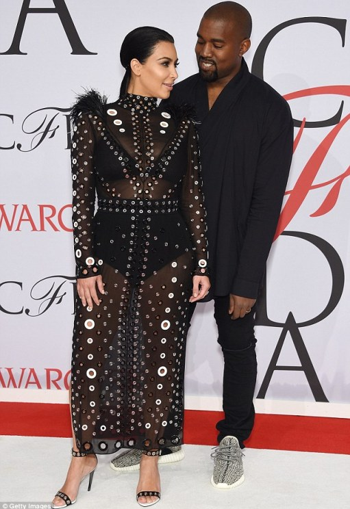 What to expect: Kim and Kanye pose at the CFDA Fashion Awards in New York, shortly after revealing the happy news that she is pregnant with her second child