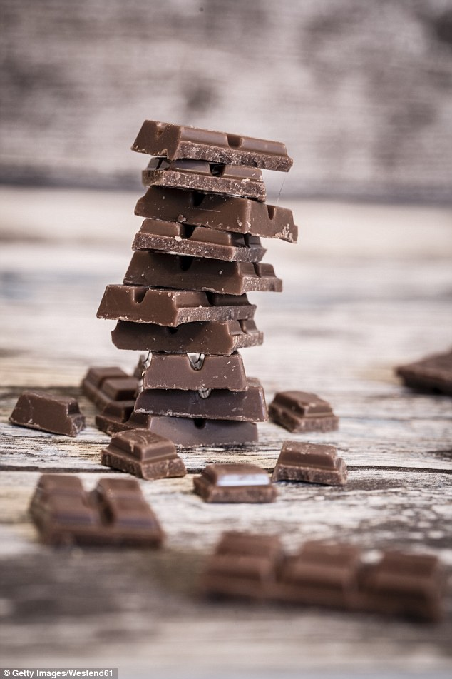 DIY: Make your own chocolate using a mix of melted coconut oil, raw cacao powder and rice malt syrup