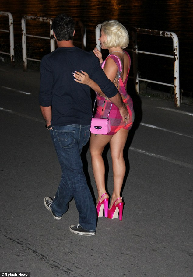 Lady Gaga Shows Off Her Slimmed Down Figure With Fiance