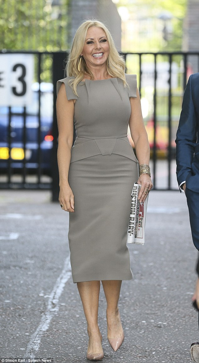 Carol Vorderman Caught Stepping Out In Exactly The Same