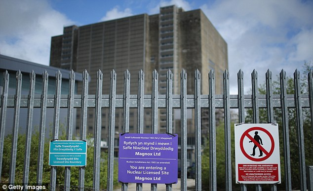 Researchers assessed the rates of various cancers at three nuclear sites including Trawsfynydd (above), which ceased operation in 1993, as well as at Bradwell power station in Essex and Hinkley Point in Somerset
