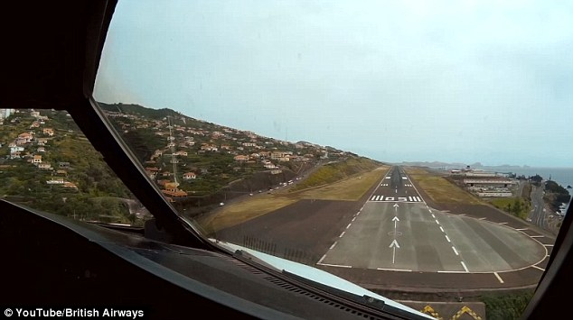 Funchal is frequently included in lists of the 'scariest' runways in the world due to its challenges