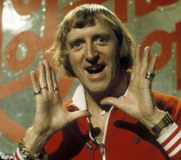 The researchers suggest that pedophiles, such as Jimmy Savile (pictured), can be identified before they commit a crime, potentially keeping children out of harm's way