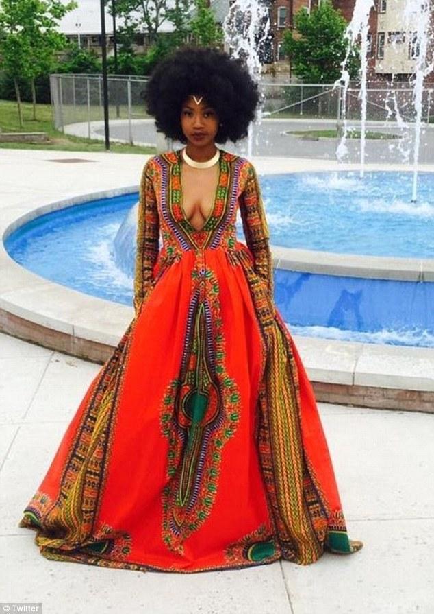 Bullied Teen Kyemah McEntyre Designs African Inspired Prom