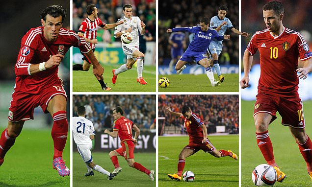 Gareth Bale v Eden Hazard: Real Madrid and Chelsea stars ...