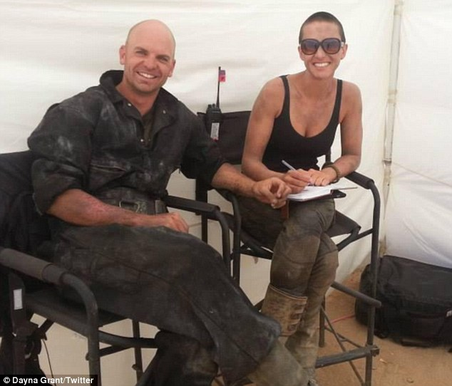 Image result for stunt doubles for Charlize Theron and Tom Hardy