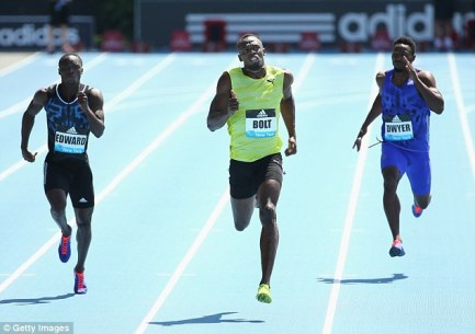 The Jamaican revealed that he was disappointed with his time but happy to win the race