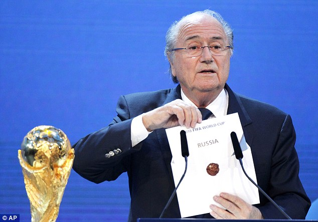 Blatter said he would step down in a speech made on June 2 but has not ruled out remaining in office