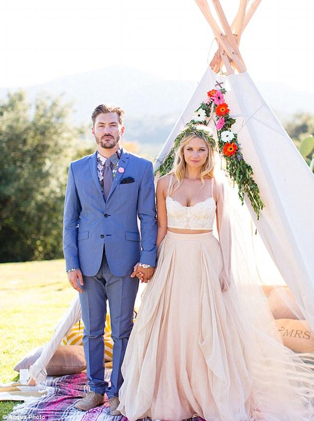Vanessa Ray Landon Beard Wedding