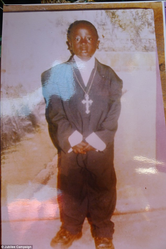 Deceased: Steven Emmanuel Kironde was abducted while his grandmother rushed to the nearby shops - and found decapitated behind their home the next morning