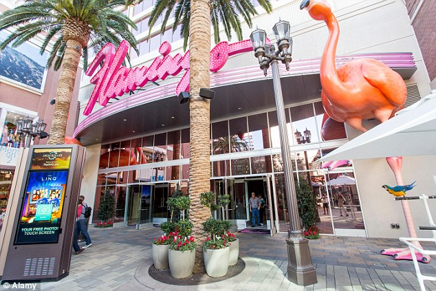 The flamingo  at The Flamingo Hotel and Casino in Las Vegas. This came in 16th position with 3,565 rooms