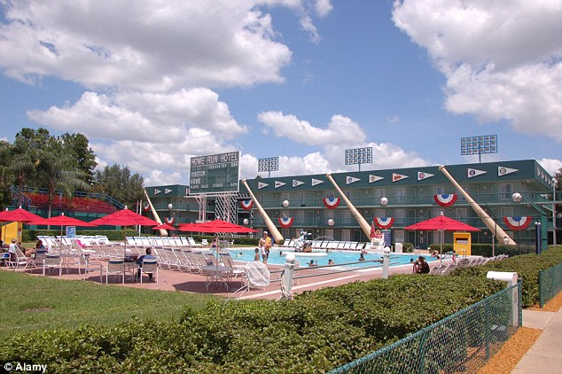 This Sports Resort forms part of three main resorts at the Walt Disney World Resort in Orlando. The property came third in the overall list
