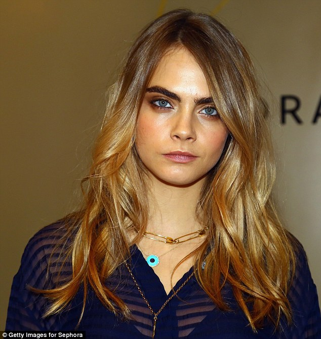 Cara Delevingne's iconic brows were named the best of the bunch