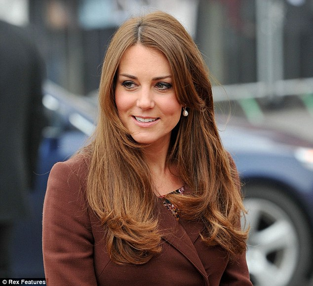 The Duchess of Cambridge was said to have the most sought after hair in the world