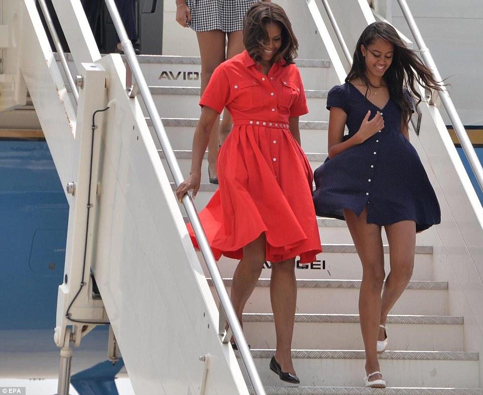 Nackt Malia Obama  Malia obama