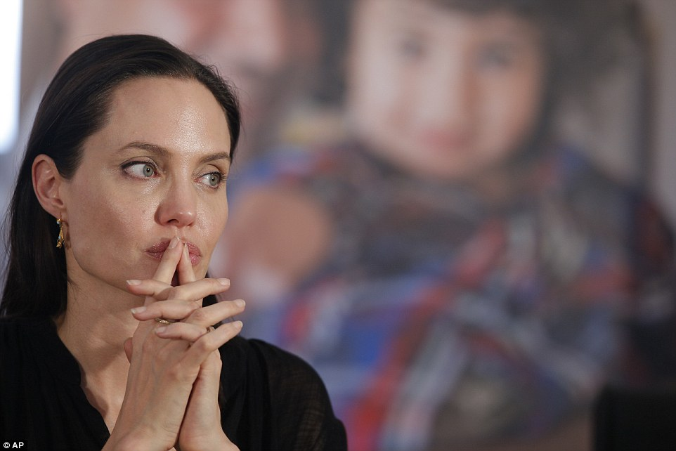 As Special Envoy of the United Nations High Commissioner for Refugees, Angelina Jolie's role is to bring attention to the plight of refugees