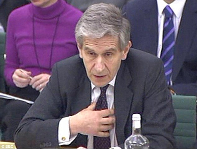 Former HBOS chairman Lord Stevenson. He and other bankers have not had to pay to defend themselves
