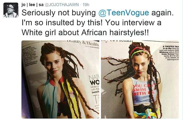 Teen Vogue Criticized As Anti Black Over Braids Feature