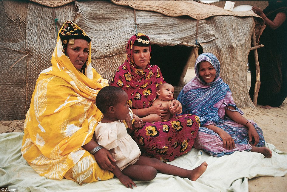 Centre: It means the mother's tent is the heart of the community - although they do not eat together, and do much separately