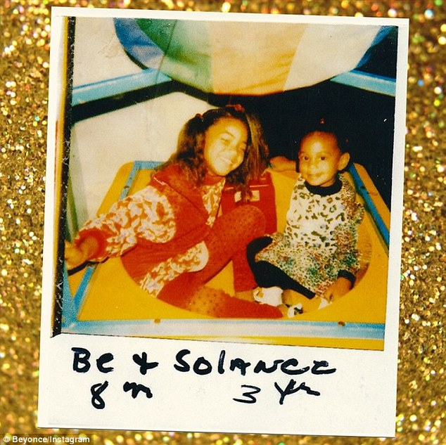 Beyonce Posts Flashback Shot With Sister Solange Knowles