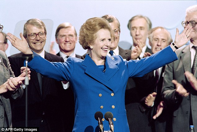 Bring in the Baroness: The Transport Secrerart saidFrance needs a 'Mrs Thatcher' to take on the trade unions and address the chaos currently gripping Calais