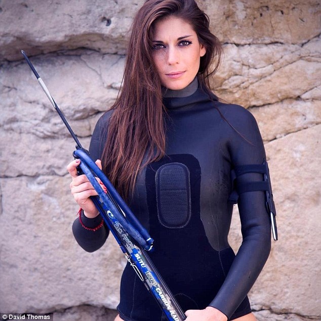 Spearfisher Valentine Thomas Reveals The Abuse She