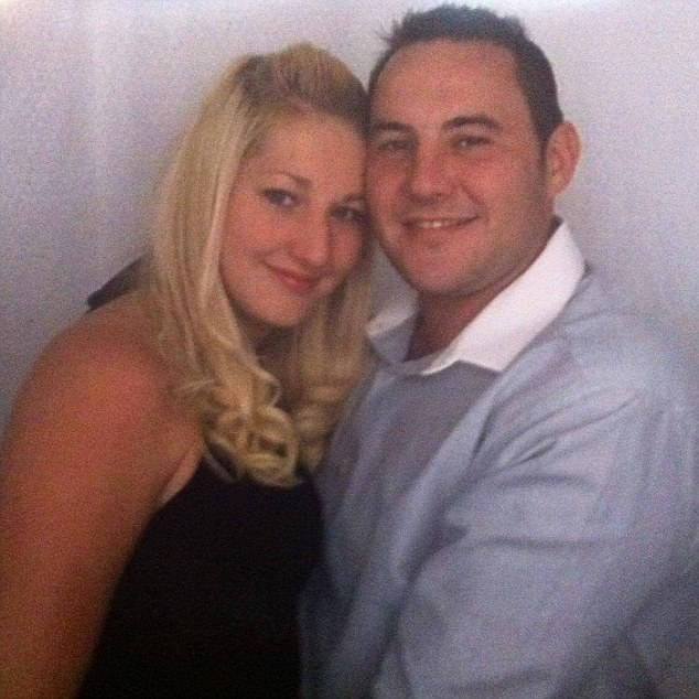 Hero: British man Matthew James (right), who was shot three times on the beach during the onslaught, used his body as a human shield to protect his fiancee Sarah Wilson (left) from being killed by the maniac gunman