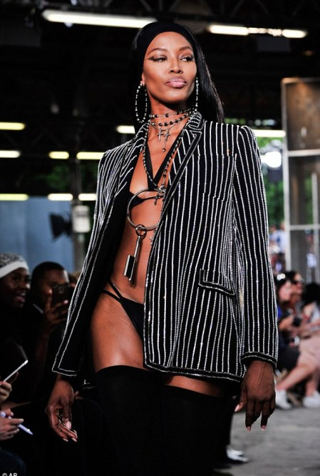 Prowess: Naomi looked like she had the audience in the palm of her hand