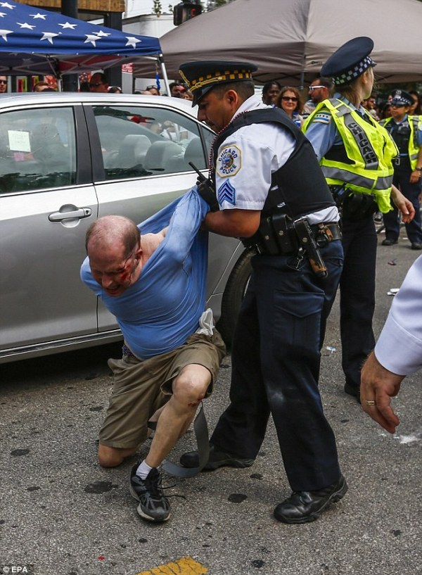 Chicago's Pride Parade sees man arrested after 'driving ...