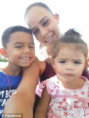 Elizabeth (center), her son Xavier, 7 (right, left), and her daughter Sofia, 2, were found with gunshot wounds on Saturday