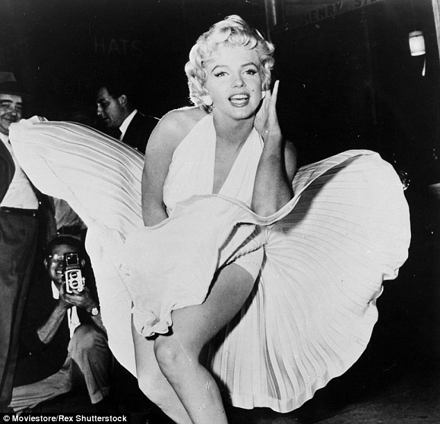 Icon:Marilyn Monroe (above in the 1955 film The Seven Year Itch) items were auctioned off at Julien's Hollywood Legends Auction over the weekend