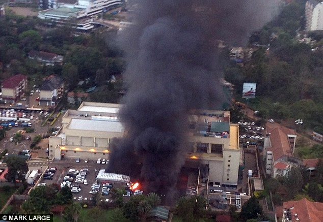 In 2013, militants stormed the Westgate shopping mall in Nairobi, Kenya, killing more than 60 people