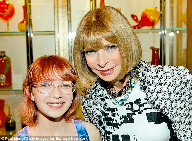 Tavi met Anna Wintour (right) in 2010 but the experience left her feeling deflated