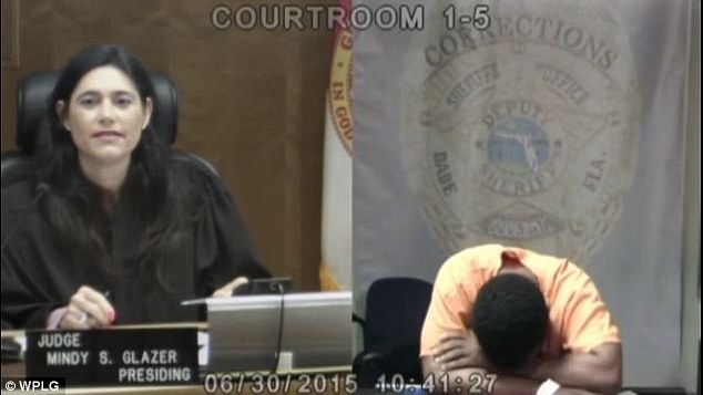 From awkward to heartbreaking: Booth breaks down and cries with shame in front of the judge