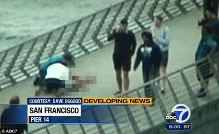 'Dad, help me': Steinle's father immediately began CPR before paramedics rushed his daughter to the hospital
