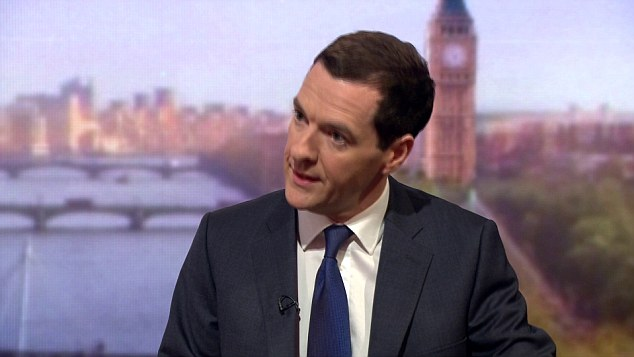 George Osborne this morning confirmed the Corporation would 'make a contribution' towards £12billion in benefit cuts needed under Tory plans to eliminate the deficit