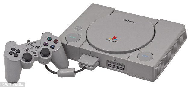 Rival: Sony and Nintendo never widely produced their joint console. Instead, Sony went it alone and released the PlayStation, seen above, in 1994 - which went on to revolutionize gaming