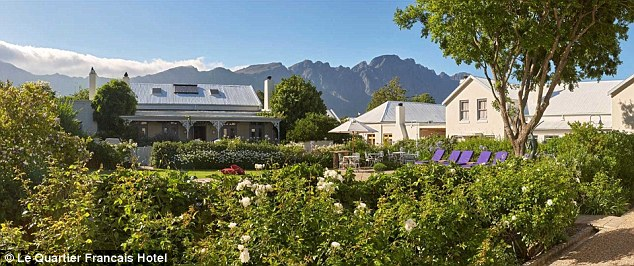 For an authentic taste of South Africa look no further than the country's Le Quartier Francais Hotel