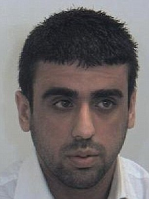 Mohsin Khan, 21 (jailed for four years)