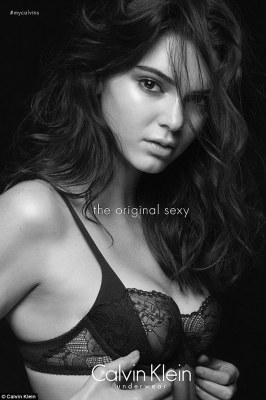 Photos : Kendall Jenner Smolders In Lingerie For Calvin Klein's 'The Original Sexy' Campaign