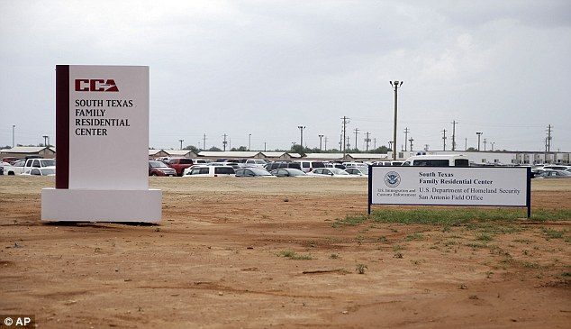 It costs $231 to house a detainee at the Immigration and Custom's Enforcement family detention center in Dilley, Texas,  Daily Mail Online can reveal