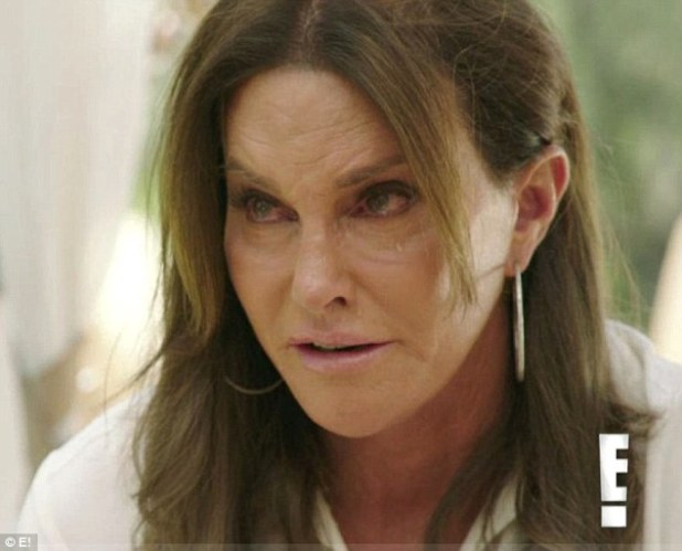 Breaking down: The star tearfully discussed her family in a trailer for the show, which was released on Monday