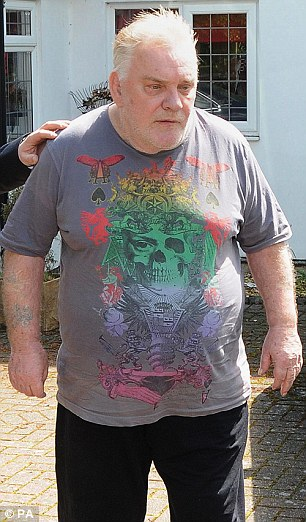 Comedian Freddie Starr, 72, (pictured above outside his home in Warwickshire last year) was arrested under Operation Yewtree but never charged by police over allegations of historic sexual abuse