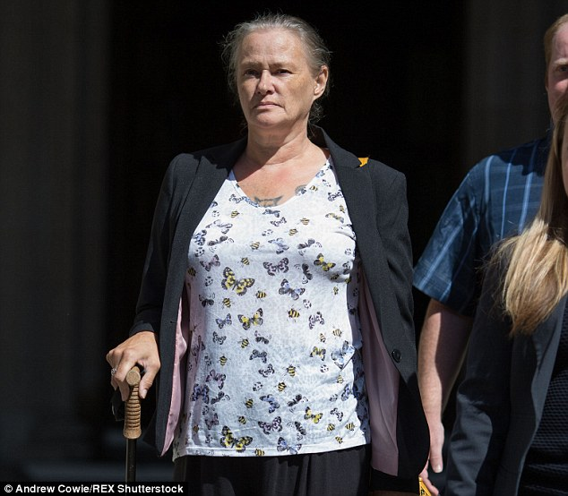Starr, 72, has lost his defamation claim against Karin Ward (pictured outside London's High Court today) who claimed Starr molested her when she was aged 15 in 1974. The judge ruled Starr did grope and humiliate her