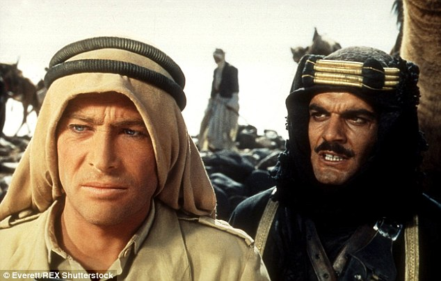 Lawrence of Arabia, with Peter O'Toole, in 1962 was his first international film