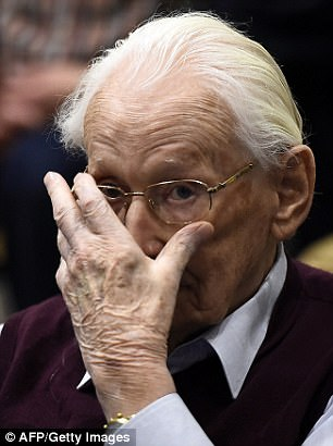 Groening look visibly shaken as he is sentenced to four years in jail today