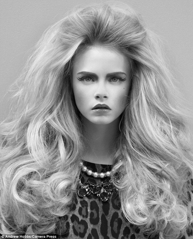 Blast from the past: Cara Delevingne looks incredible in these throwback images from 2010, previously unseen in the UK