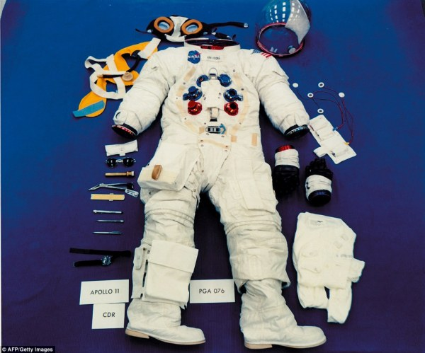 Smithsonian reveals Neil Armstrongs historic Apollo